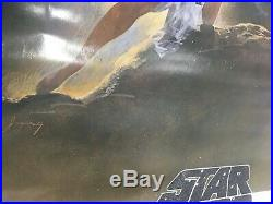 1977 Original Authentic Star Wars Soundtrack Movie Poster, Type A, 27x41, nice