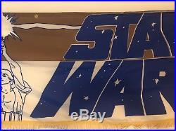 1977 Original Star Wars Lobby Banner