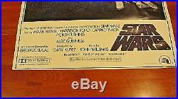 1977 STAR WARS Movie Poster Near Mint
