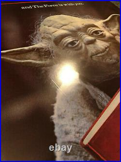 1983 YODA READ Poster + 1997 Star Wars LIBRARY POSTERS SET of 5 UNUSED RARE