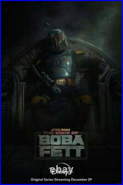 Book of Boba Fett 27x40 1 Sheet DS Movie Poster Double sided MINT PREORDER