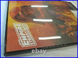 Carrie Fisher & Peter Mayhew SIGNED Star Wars Poster with COA Numbered OAES01