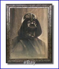 DARTH VADER Star Wars original painting by Jerry VanderStelt