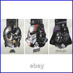 Devin Schoeffler Star Wars Trilogy (SET 3) The Fourth, Fifth, Sixth Poster Print