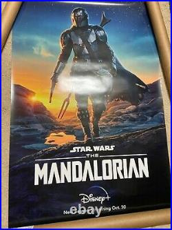Disney Star Wars The Mandalorian 27x40 Double Sided DS Movie Poster Authentic 2A
