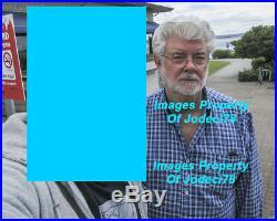 George Lucas Signed Star Wars IV New Hope Full Size Poster EXACT Proof JSA COA