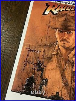 Indiana Jones Harrison Ford SIGNED Autograph Raiders Ark Photo Poster Star Wars