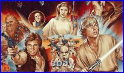 MONDO The Ways Of The Force Star Wars poster Martin Ansin Original Reg Print