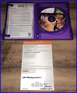 Microsoft Xbox 360 Kinect Star Wars Limited Edition 320GB Original Box + Poster