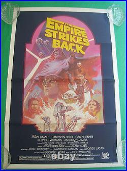 ORIGINAL STAR WARS Empire Strikes Back MOVIE POSTER, 27x41, 1982