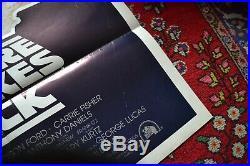 ORIGINAL Star Wars Printers Proof (28.25x41) One Sheet Movie Film Poster RARE