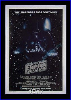 ORIGINAL Star Wars THE EMPIRE STRIKES BACK 1979 NM/ROLLED Advance MOVIE POSTER