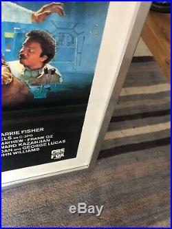 Original 1983 Star Wars Return Of The Jedi Video Promotional Poster
