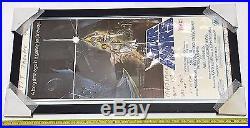 Original Framed Vintage Star Wars Large 32 Theater Lobby Display Movie Poster