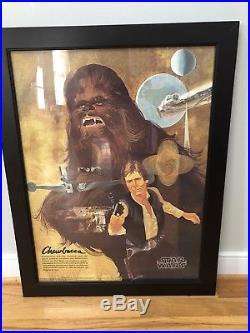 Original STAR WARS BURGER KING COCA-COLA Posters (1977) SET OF 4