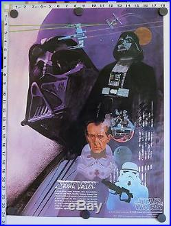 Original STAR WARS BURGER KING COCA-COLA Posters (1977) SET