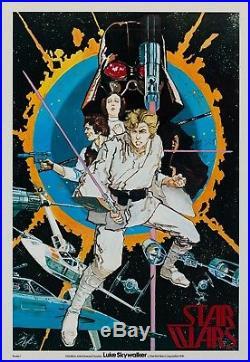 Original Star Wars 1976, US Special Film/Movie Poster Chaykin