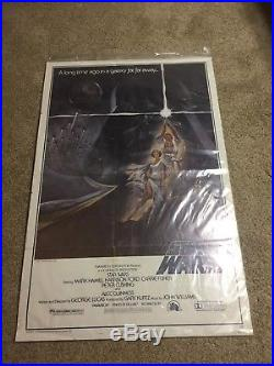 Original Star Wars 1977 Style A 77/21 Poster