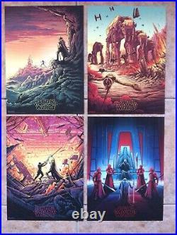 Original Star Wars IMAX Posters Full Set Of 12 VERY RARE