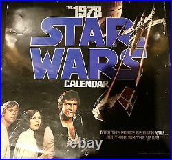 Original Star Wars Movie Memorabilia 1978 1979 Calendars Portfolio Artwork Photo