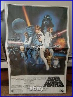 Original Star Wars Poster lithograph 1977 Lucas Films PTW531 PTW 531