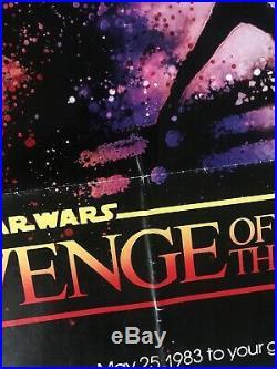 Original Star Wars Revenge Of The Jedi Movie Poster