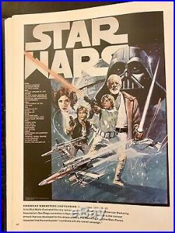 Original Star Wars poster! Ultra-Rare! American Marketing Association, 1977