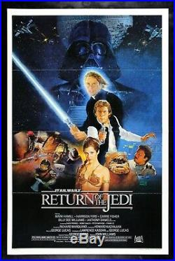 RETURN OF THE JEDI CineMasterpieces ORIGINAL 1983 MOVIE POSTER STAR WARS