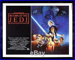 RETURN OF THE JEDI CineMasterpieces ORIGINAL 1983 RARE STAR WARS MOVIE POSTER