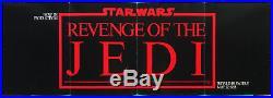 REVENGE OF THE JEDI Original 1982 Trade Insert promo / poster STAR WARS Return