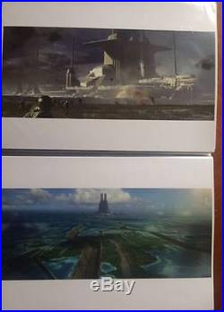 Rogue One Star Wars A4 Movie Production Art Collection Props