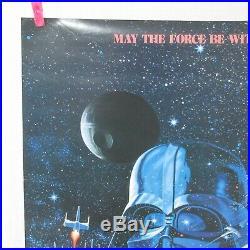 STAR WARS 1977' Original Movie Poster Japanese B2