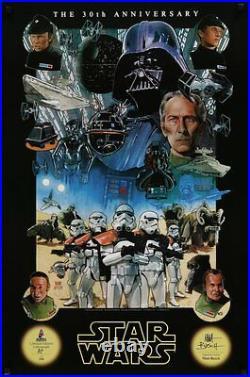 STAR WARS CELEBRATION 4 limited edition print AP #250 MATT BUSCH signed 25x36