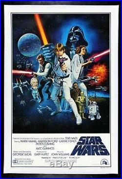 STAR WARS CineMasterpieces 1977 RARE VINTAGE ORIGINAL STYLE C MOVIE POSTER