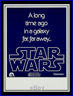 STAR WARS CineMasterpieces ORIGINAL HANDBILL HERALD FLYER MOVIE POSTER 1977