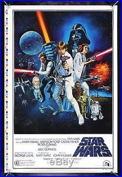 STAR WARS CineMasterpieces STYLE C ORIGINAL MOVIE POSTER PRINTER'S PROOF 1977