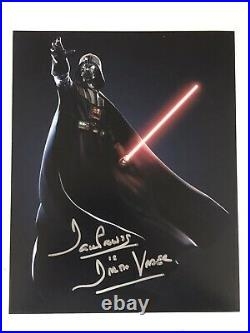 STAR WARS DARTH VADER DAVID PROWSE SIGNED AUTOGRAPHED 8x10 PHOTO With EXACT PROOF