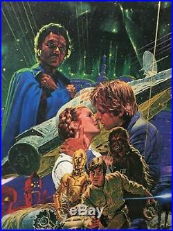 STAR WARS EMPIRE STRIKES BACK Japanese Version ORIGINAL 1980 by Noriyoshi Ohra