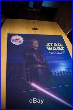 STAR WARS EPISODE 3 27x40 Lenticular 3D Flip Effect Movie Poster Original