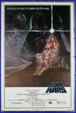 STAR WARS EPISODE IV A NEW HOPE (1977) 29310 Movie Poster Art by Tom Jung