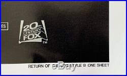 STAR WARS EPISODE VI RETURN OF THE JEDI MOVIE POSTER 1 Sheet ORIGINAL 27x41