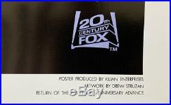 STAR WARS EPISODE VI RETURN OF THE JEDI MOVIE POSTER SS 10th Ann. ORIGINAL 27x41