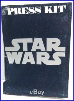 STAR WARS ORIGINAL PRESSBOOK pre-release interviews, bios, campaign book 1977