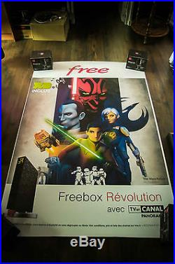 STAR WARS REBELS FREE 4x6 ft Bus Shelter Original Movie Poster 2016