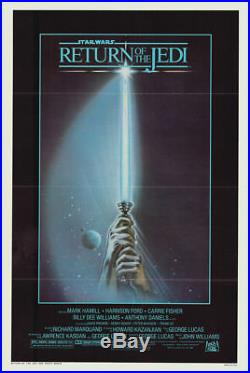 STAR WARS RETURN OF THE JEDI ADVANCE 1983 Original Movie Poster One Sheet 27x41