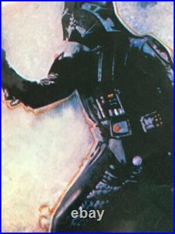 STAR WARS REVENGE OF THE JEDI 1983 Original Vintage Movie Poster 27x41 Folded