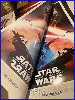 STAR WARS RISE OF THE SKYWALKER Original Final DS One Sheet 27x40 D/S US Poster