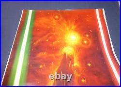 STAR WARS Return of the Jedi Yamakatsu Starfall Ohrai art Japanese Movie Poster