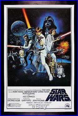 STAR WARS STYLE C HAIRY BACK ORIGINAL BOOTLEG MOVIE POSTER CineMasterpieces
