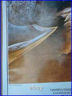 STAR WARS Style A MOVIE POSTER -Gently ROLLED 1993 Zig Zag 27x40 Very Nice